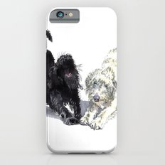 Stretching Labradoodles iPhone 6s Slim Case