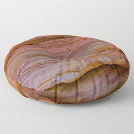 Colorful Sandstone, Valley of Fire - IIa Floor Pillow