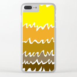 Ebb&Flow-Ember Clear iPhone Case