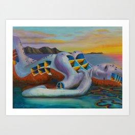 Shipbreaker II Art Print