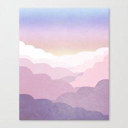 Minimal abstract landscape 01 Canvas Print