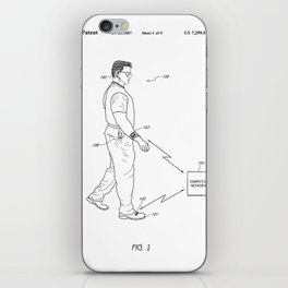 Retro 1980's Gadget Man Apple Watch iPhone Skin