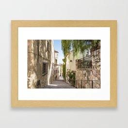 Beautiful Spanish Village Framed Art Print