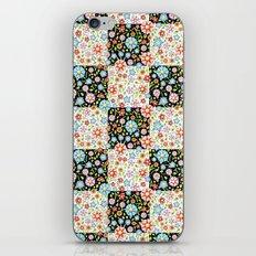 Millefiori Floral Patchwork iPhone & iPod Skin