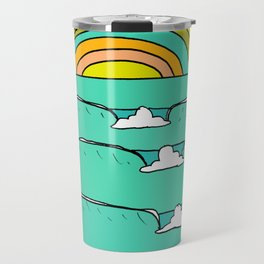 pineapple fields and endless summer vibes Travel Mug