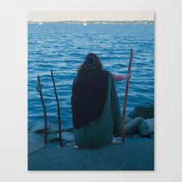 3 of Wands Canvas Print