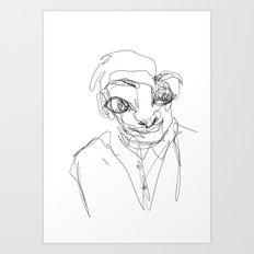 Funny Guy Art Print