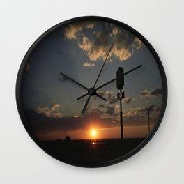 Sunrise/Sunset Wall Clock
