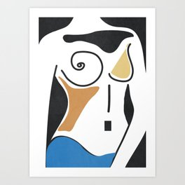 Shapes-Nude Art Print