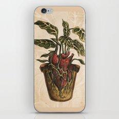 Heart Plant iPhone & iPod Skin