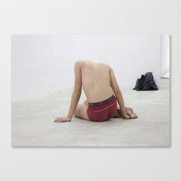 Catarsis // Κάθαρσις Canvas Print