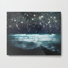 The Greek Upon the Stars Metal Print