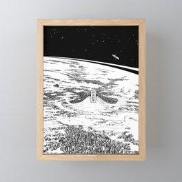 Space upon us Framed Mini Art Print