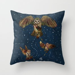 Healers Of Light Throw Pillow