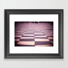 Twin Peaks Everywhere Framed Art Print