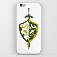 zelda iPhone & iPod Skins featuring Zelda by Brandon Riesgo