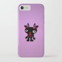 minnie iPhone & iPod Cases featuring Minnie by Karen Strempel
