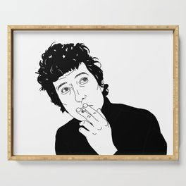 Bob Dylan Serving Tray