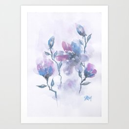 Watercolor Floral #2 Art Print