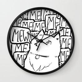 It's not Me, it's Mew. Wall Clock