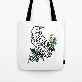 New Zealand Tui Bird Tote Bag