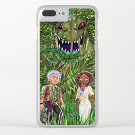 Roar Clear iPhone Case