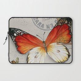 Vintage Butterfly Laptop Sleeve