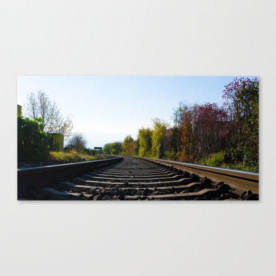 Rails Canvas Print