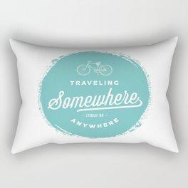 Travelling Somewhere #2 Rectangular Pillow