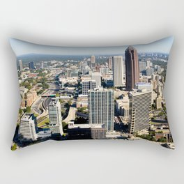 Downtown Atlanta, GA Rectangular Pillow