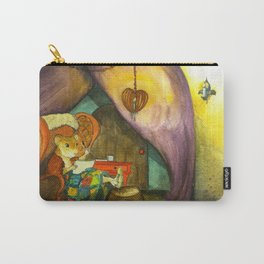 Home in the Cozy Caravan Carry-All Pouch