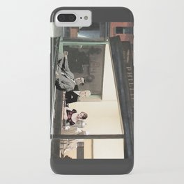 mad men characters are Hopper's Nighthawks iPhone Case