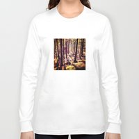 western Long Sleeve T-shirts featuring Western Woods by Ken Seligson