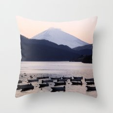 Lonely after Dark (Japan) Throw Pillow