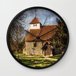 Church of St Mary Sulhamstead Abbots Wall Clock