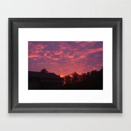 Summer Sunrise Framed Art Print