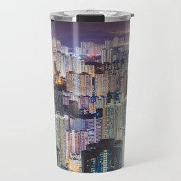 Hong Kong Skyline Travel Mug