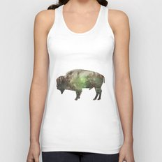 Surreal Buffalo Unisex Tank Top