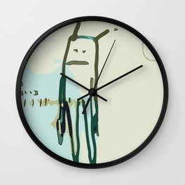 Space boy Wall Clock