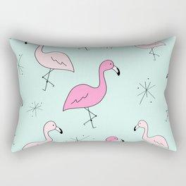 Flamingo Star Rectangular Pillow