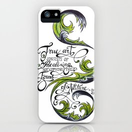 The Forms of Nature iPhone Case