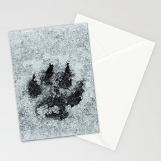 Printed In Snow Stationery Cards