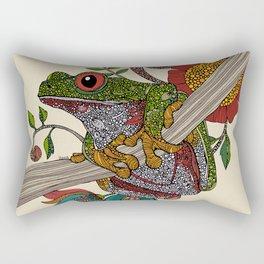 Phileus Frog Rectangular Pillow