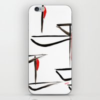 boats iPhone & iPod Skins featuring Boats by Elly F