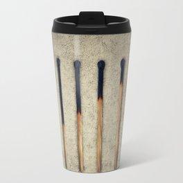 burnt matches stairsteps Travel Mug