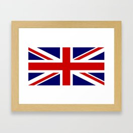British Union Flag Framed Art Print