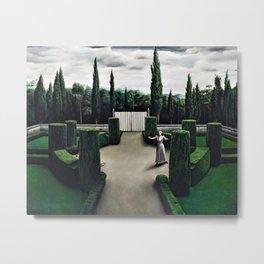 Classical Masterpiece 'Florentine Garden' by Pyke Koch Metal Print