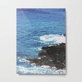 Rocky Shoreline Metal Print