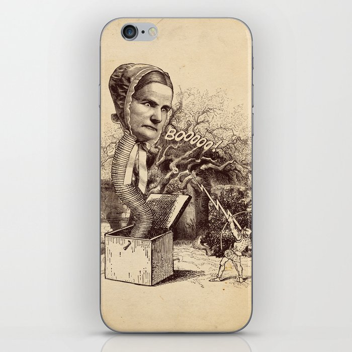 The Striking of the Lasia Monster iPhone Skin