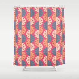 Harajuku Tokyo Fanned Out  Shower Curtain